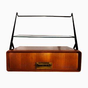 Bedside Tables by Silvio Cavatorta, Set of 2