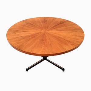 Round Vintage Coffee Table, 1960s