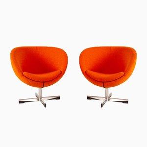 Scandinavian Modern Lounge Chairs by Sven Ivar Dysthe, 21st Century, Set of 2
