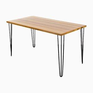 Teak and Steel Desk Table from Komfort Denmark, 1960s