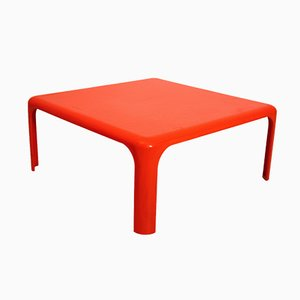 Vintage Demetrio 70 Coffee Table by Vico Magistretti for Artemide