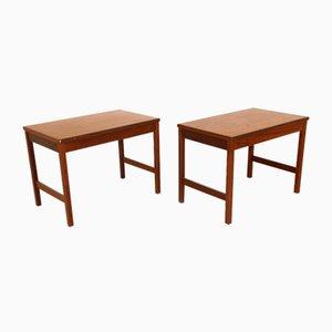 Bedside Tables from HMB, Sweden, 1960s, Set of 2