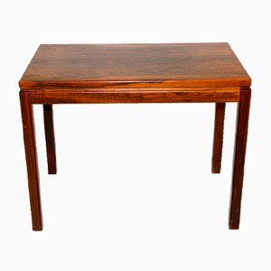 Rosewood Side Table from HMB, Sweden, 1960s