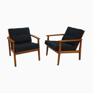 Mid-Century Scandinavian Lounge Chairs, 1960s, Set of 2