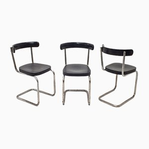 Cantilever Chair by Emile Guillot for Thonet, 1930s