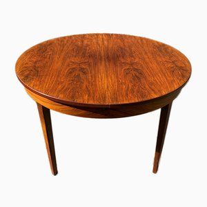 Scandinavian Extendable Rio Rosewood and Teak Table from Ameublement NF, 1960s