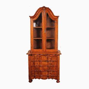Small Dutch Display Cabinet in Walnut