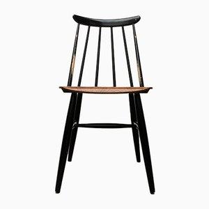 Mid-Century Teak Fannett Chairs by Ilmari Lappalainen for Asko, Set of 4
