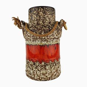 Vase Fat Lava de Jopeko, 1970s