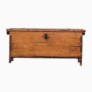 Cassettiera piccola in legno di pino massiccio