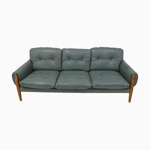 Mid-Century Leather Sofa, Denmark