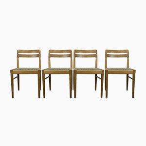 Chaise de Salle à Manger en Chêne par HW Klein pour Bramin, Danemark, 1960s