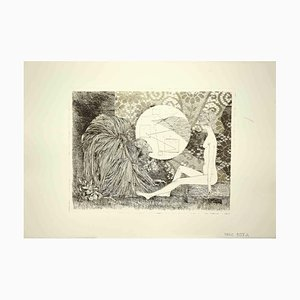 Leo Guida, Sybil, Radierung, 1970er