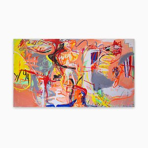 We'll Remember Baton Rouge, Abstract Painting, 2015