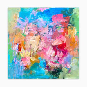 Set in Motion, Abstract Painting, 2019