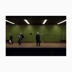 Arthur Bauer, Man with Briefcase, 2018