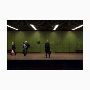 Mann mit Aktenkoffer, 2018