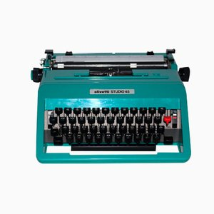 Studio 45 Travel Typewriter by Ettore Sottsass for Olivetti, 1960s