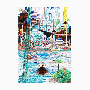 Natasa Galecic, Waterfalls in the Middle of a Construction Site, 2017
