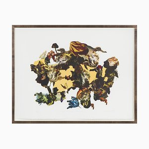 Renata Kudlacek, Serigrafia a 4 colori, Serraglio, Natura morta, 2018