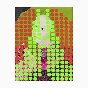 Acrylic and Mixed Media on Fiberboard, 2014