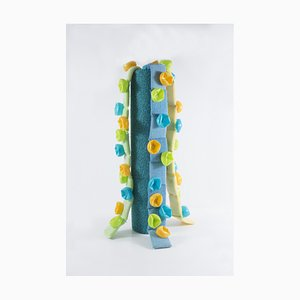 Diana Wolzak, Green and Yellow Overspill, 2019