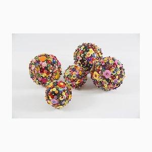 Diana Wolzak, Cosmic Button Balls, 2019