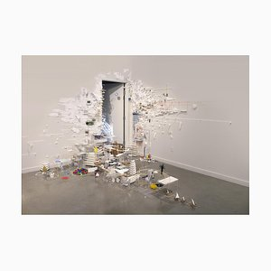 Natasa Galecic, Wherever I Go I Take My Clutter with Me, 2019