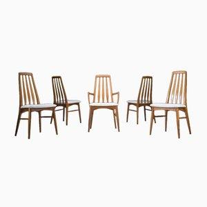 Chaises de Salle à Manger par Niels Koefoed pour Hornslet Møbelfabrik, 1960s, Set de 5