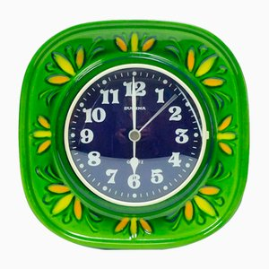 Horloge Murale Herbolzheimer en Céramique de Dugena, 1960s ou 1970s
