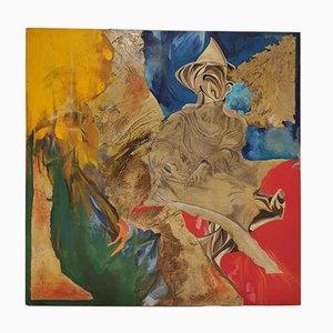 Oil on Canvas, The Subconscious Italian, 1950