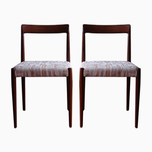 Vintage Dining Chairs from Lübke, Set of 6