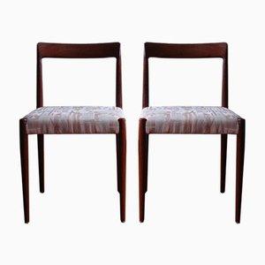 Vintage Esszimmerstühle von Lübke, 6er Set