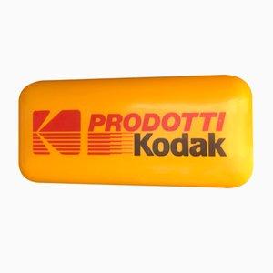 Beleuchtetes Kodak Schild