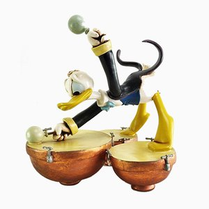 Donald Duck Drummer Figure from Walt Disney