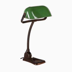 Glasierte Vintage Tischlampe, 1920er