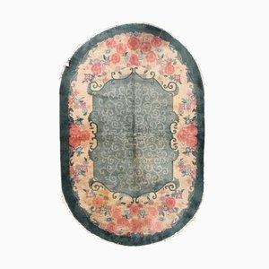 Tapis Art Déco Antique, Chine, 1920s