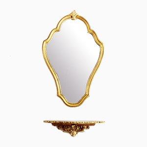 Louis XV Style Mirror, 1970s