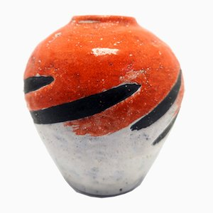 Kleine Mid-Century Modern Vase von Livia Gorka, 1970er