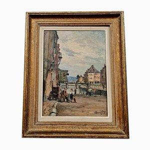 Albert Dandoy, Namur 1885-1977, Olio su tela