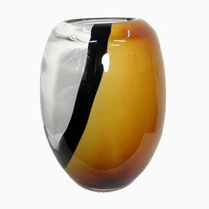 Vase en Verre de Murano Fait à la Main, 1970s