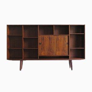 Scandinavian Bookcase by Poul Hundevad for Hundevad & Co., Denmark, 1950s