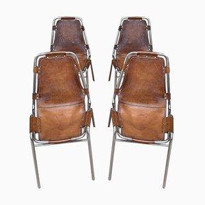 Les Arcs Stühle von Charlotte Perriand für Cassina, 1960er, 4er Set