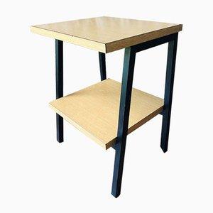 Table de Chevet Vintage Style Industriel sur Pieds en Métal