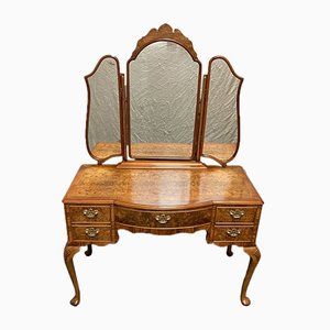 Burr Walnut Dressing Table
