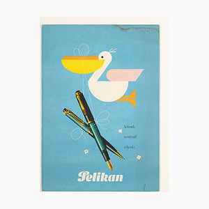 Pelikan Advertisement, 1950s