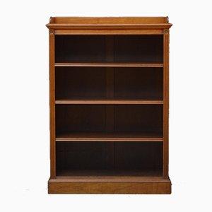 Figürliches offenes Bücherregal aus Nussholz von James Shoolbred
