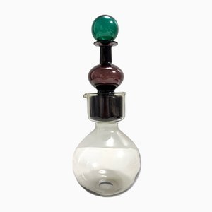 Campanas Kremlin Mod. Decantador doble Kf 1500 de vidrio soplado de Kaj Franck, 1959
