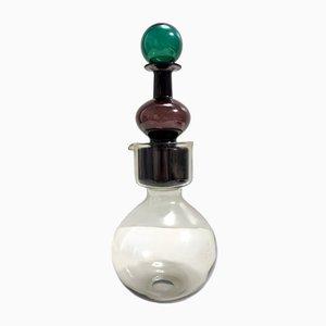 Kremlin Bells Mod. Kf 1500 Double Decanter in Blown Glass by Kaj Franck, 1959