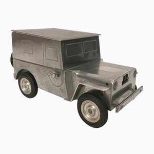 Jeep Table Lighter from Baier, 1940s